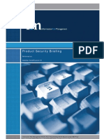 Cold Fusion 8 Product Security Brief