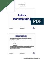 Autoliv Production System