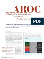 RAROC a Tool for Factoring Risk