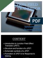 junction field effect transistors