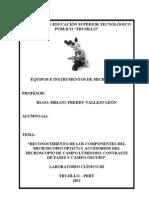 Practica II de Equipos e Instrumentos Microscopia