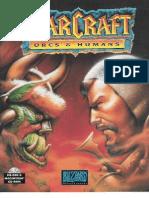 Warcraft Orcs & Humans Manual Scan