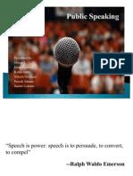 Public Speaking Group 2