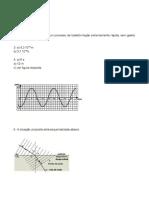 Apostila - Concurso Vestibular - Física Mod 1 Exercícios Extras Gabarito