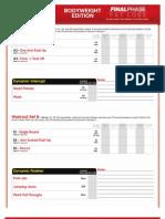 FPFL2 Body Weight Strength