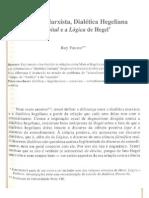 D20 Dialetica Marxista Dialetica Hegeliana