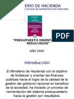 Presupuesto Orientado a Resultados - Paraguay