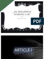Nursing Law