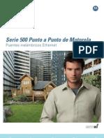 PTP 500 Series Brochure Lite Update ESP