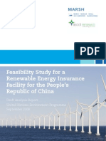 Feasibility Study Marsh China