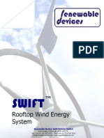SWIFT Rooftop Wind Energy System