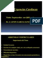7. Taquicardias  con QRS ancho, Dr Tornés