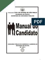 MANUAL CONCURSO DELEGADO DE POLÍCIA