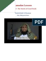 Ramadan Lessons by Sheikh Khalid Al-Husainan (may   Allah Protect him) Lesson 13
