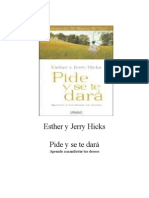Esther y Jerry Hicks - Pide y Se Te Dará