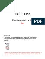 Ibhre Prep 01 Key