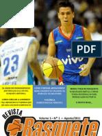 Revistamaisbasquete v1 n1 23ago2011 Corrigido
