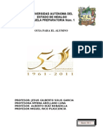 Guia Para El Alumno Enero 2011