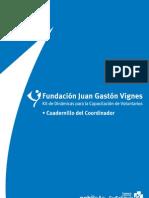Kit Dinámicas Capacitación Voluntarios - Cuadernillo Coordinador