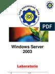 Windows Server 2003 Parte I