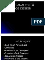 Job Analysis & Job Design