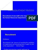 Recrutement Process