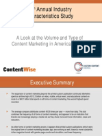 A Look at the Volume and Type of Content Marketing in America_2011