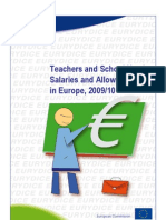 Teachers and School Heads Salaries and Allowances in Europe_2009-2010
