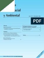 Medicina Aeroespacial y Ambiental VOL. v NUMERO 1 DICIEMBRE 2006