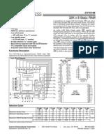 Datasheet Cy7c199
