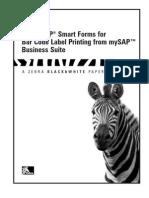 SAP Smart Forms Printing