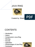 Java Ring Ppt
