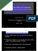 Alex Awiti -State of Africa