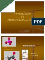 Nomenclature by Abhishek Jaguessar