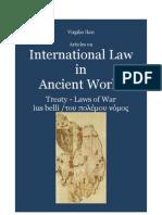 ILARI Virgilio. Treaties and Laws of War in Ancient International Law