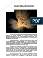 Asimetría materia-antimateria
