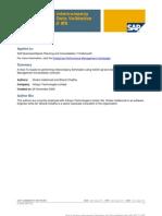 SAP BPC Data Validation
