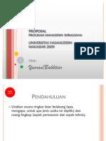 Format Bisnis Plan PMW