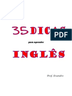 35 Dicas Para Aprender Ingles[1]
