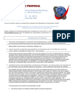 Ars Proposal Sample