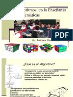 Los  Algoritmos  en la Enseñanza  de la Matemáticas