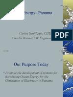 Ocean Energy- Panama