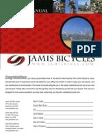 Jamis Owners Manual