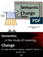 Semantic Change