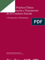 Guía de Práctica Clínica de Prevención y Tratamiento de la Conducta Suicida