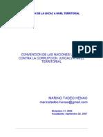 INGRESO Y GASTO PUBLICO A NIVEL REGIONAL Y LOCAL - Captura del Estado y Tecnologia de La Corrupcion  - Marino Tadeo Henao, 2006