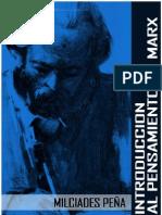 Milciades-Peña-Introduccion-al-pensamiento-de-Marx