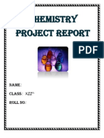 chemistry XII project