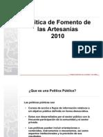 Politica sectorial 2101 2015