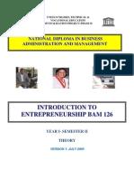 Enterprenurship 1